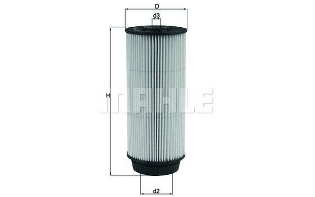 KNECHT Filtro combustible Para MITSUBISHI CANTER IVECO DAILY KX 399D