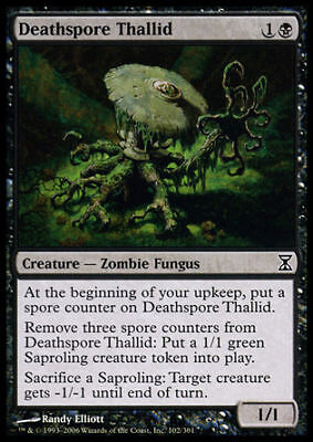DEATHSPORE THALLID Magic TSP Mint 4x THALLID SPORA MORTALE