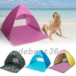 Beach Sun Shade Tent UV Canopy Sun Umbrella Pop Up Shelter Camping Picnic Hiking
