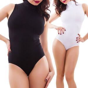 Body Donna Intimo Microfibra Elasticizzato Spalla Larga Slim Nuovo Rt9093 Donna: Abbigliamento