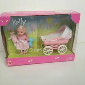 BARBIE BABY CARRIAGE from Kelly Doll Tiny Steps Set 2002 Mattel Barbie/'s Sister
