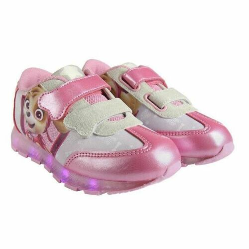 Paw Patrol Schuhe LED Licht Mädchen Kinder Sneakers Sportschuhe Disney Canvas