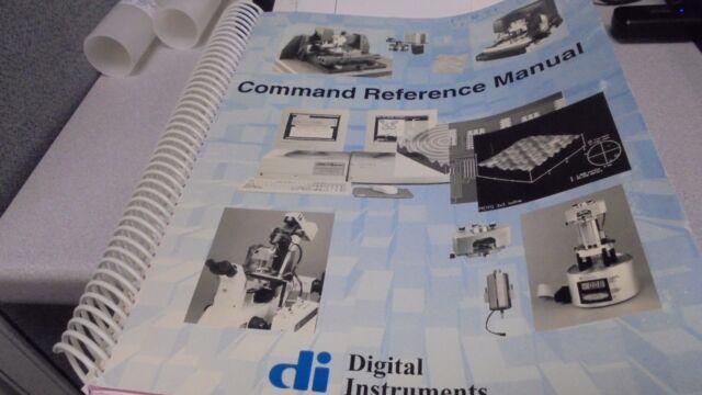 Digital Instruments Nanoscope Command Reference Manual V4.31, 1998
