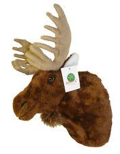 Adore 13in Yukon The Moose Plush Stuffed Animal Walltoy Wall Mount