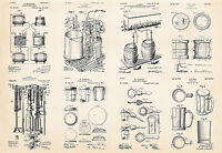 Beer Making Brewing Craft Beer Gifts Paraphernalia Specialist Patent Art Prints