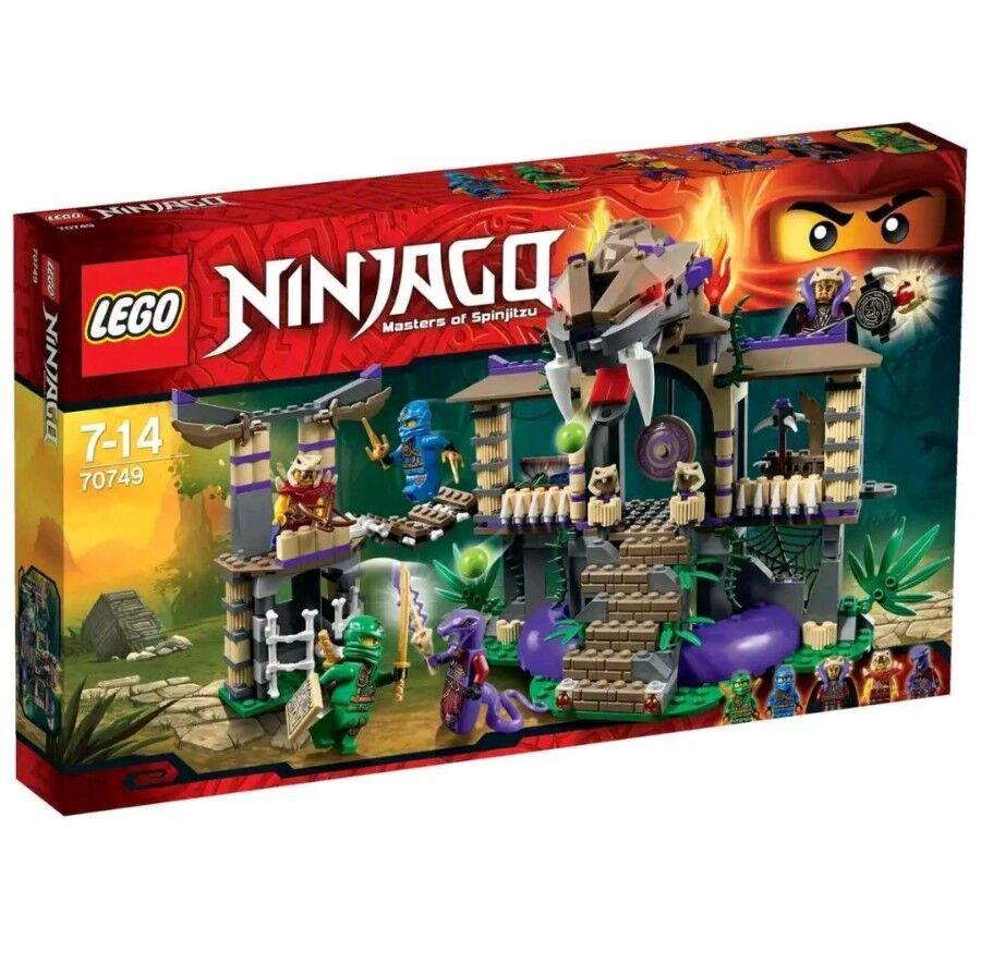 LEGO 70749 NINJAGO ENTER THE SERPENT - BRAND NEW