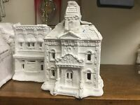 Creative Crafts California Creations city Hall Holiday Village Rare