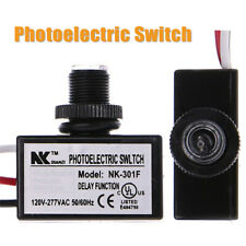 Electric Photocell Dusk To Dawn Flush Mount Button Photo Control Eye Switch