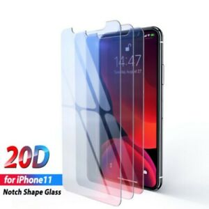 For-Apple-iPhone-11-Pro-Max-Tempered-Glass-9H-Cover-Film-20D-Screen-Protector-aa