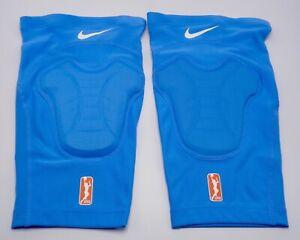 Nike-Wnba-pro-Hyperstrong-Acolchado-Rodillera-Batalla-Azul-BLANCO-S-M