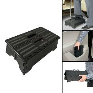 Portable Folding Step Up Stool Car Height Boost Elder