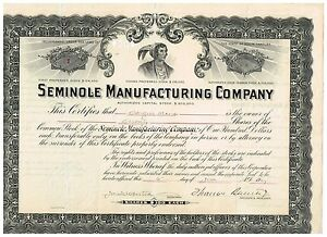 Seminole-Manufacturing-Co-1907-Nr-1