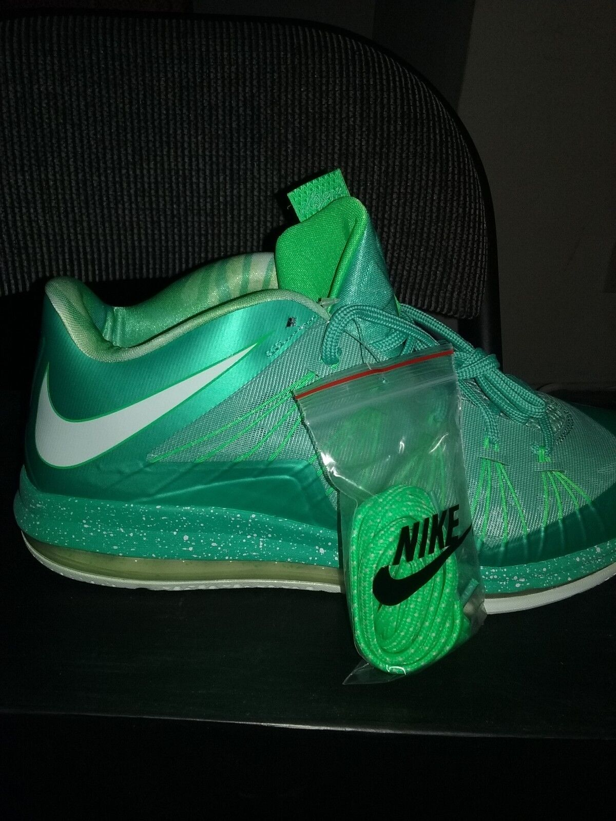 Nike air max lebron james x 10 basso pasqua verde Uomota scarpe uomo numero 12