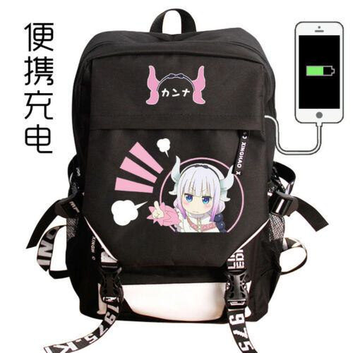 Miss Kobayashi/'s Dragon Backpack School Bag Harajuku Shoulder Bag Holiday Gift#2