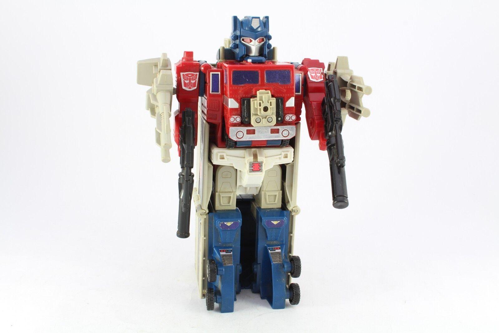 Transformers G1 Powermaster Optimus Prime Complete Needs Clean