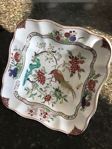 Booths-Antique-Square-Bowl-Bird-of-Paradise