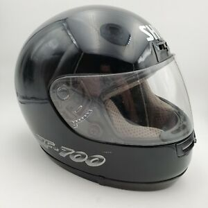 SHOEI-RF-700-Motorcycle-Helmet-Elite-Series-Full-Face-Size-M-Black
