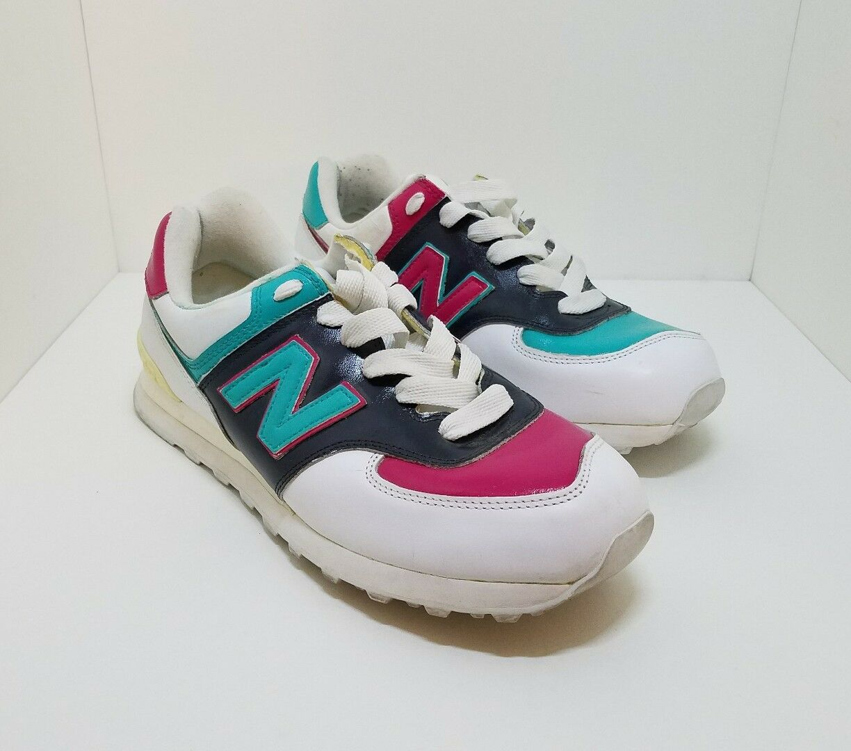 New Balance M574WHL Classic Multicolor Casual Athletic Sneakers Men's US 11.5