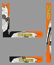 CRG STYLE IAME X30 RADIATOR STICKER KIT - KARTING