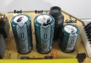 Lcd Amp Plasma Tv Capacitors Replacement Repair Kit Power