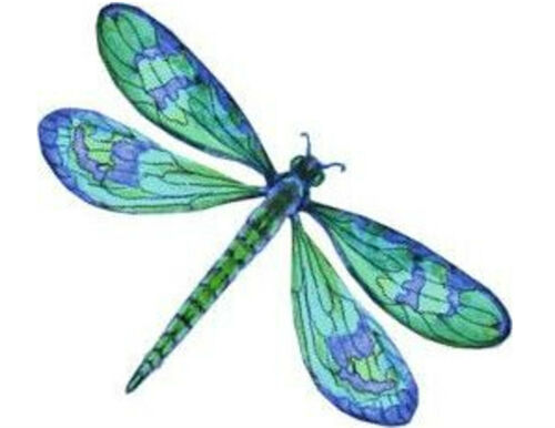 Dragonfly pequeños o grandes Etiquetas Adhesivas Pegatinas de Papel Blanco Nuevo
