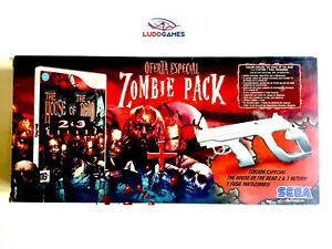 Zombie-Pack-House-Of-The-Dead-2-amp-3-Wii-Pal-Spa-Scelle-Neuf-Nouveau-Scelle