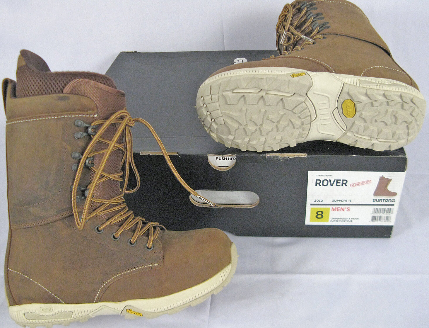 NEW   350 Burton Rover Mens Snowboard  Boots    8  or  7.5  support wholesale retail