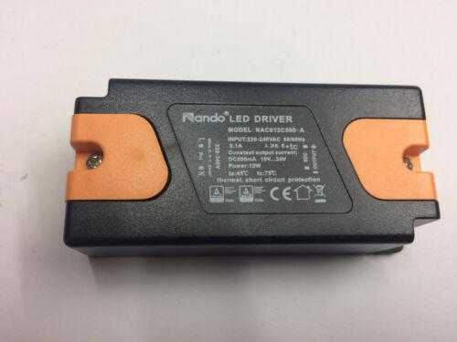 LED Driver Nando 12W 10-24V 500mA NAC012C500-A Trafo Power Supply