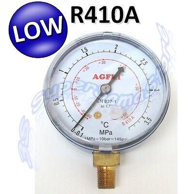 3S MANOMETRO ALTA BASSA PRESSIONE GAS REFRIGERANTE R410A R134a R407C R404A R32