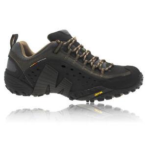 buy online 8d1cc a8933 ... Merrell-Intercept-Chaussures-De-Marche-Basket-En-Cuir-