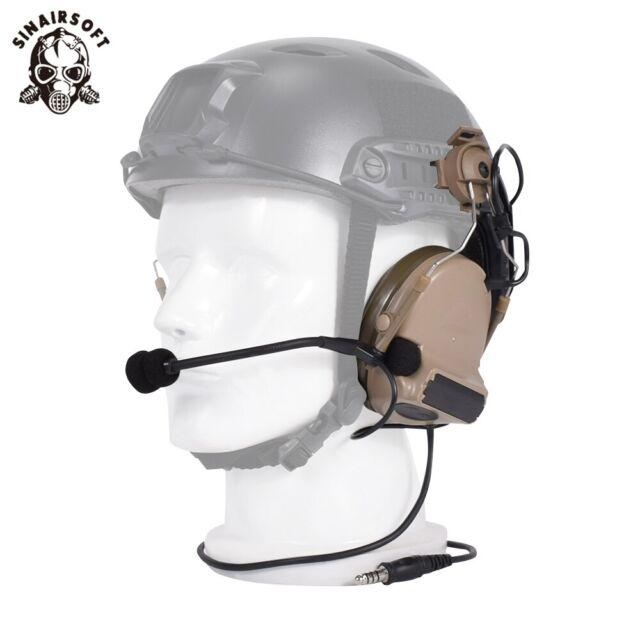 ZTactical Comtac II Headset Anti Noise W/ Rail Adapter For FAST Helmet Headphone