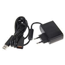 USB AC Adapter Power Supply Cable for Xbox 360 XBOX 360 Kinect Sensor EU Plug