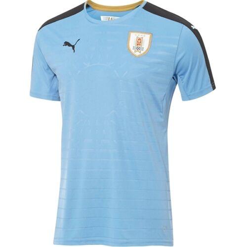 Puma Uruguay Copa America Centenario 2016 DryCell Home Soccer Jersey Sky Blue