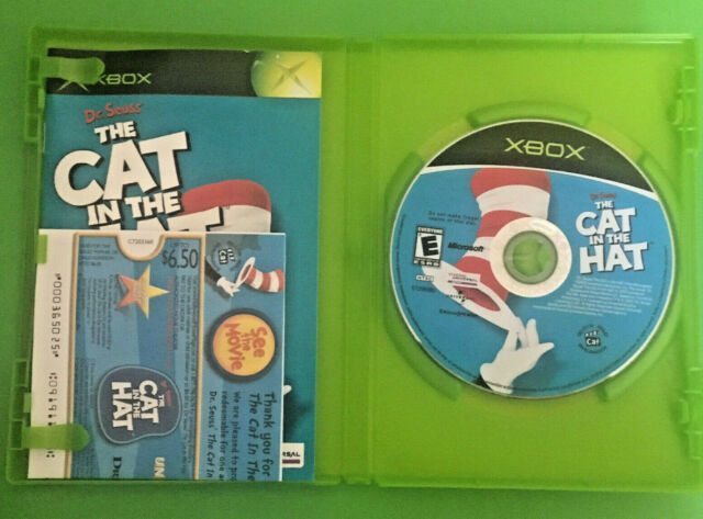 Dr  Seuss' The Cat in the Hat (Microsoft Xbox, 2003)