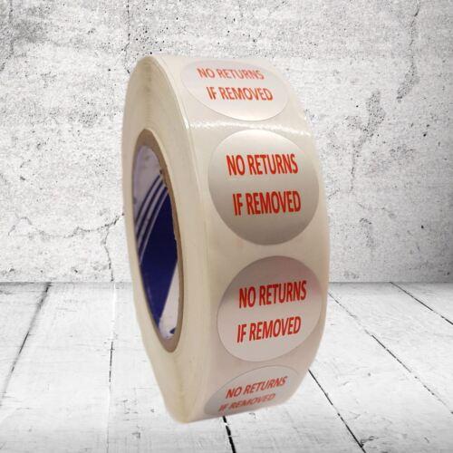 Garantie Void autocollants preuve sécurité sceau étiquettes aucun retour si retiré
