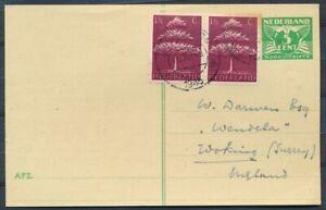 NOODBRIEFK-5-CT-G-277a-PAAR-406-BENNEBROEK-ENGLAND-7-XII-1945-ST-HILLEGOMAd394