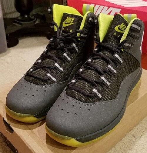 NEW Dark Nike 2011 Air MAX Darwin 360 Dark NEW GrayModel Men's Size 9.5 711f44
