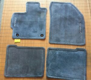 GGBAILEY D50567-F1A-RD-IS Custom Fit Car Mats for 2012 2014 2015 Toyota Prius Base Red Oriental Driver /& Passenger Floor 2013