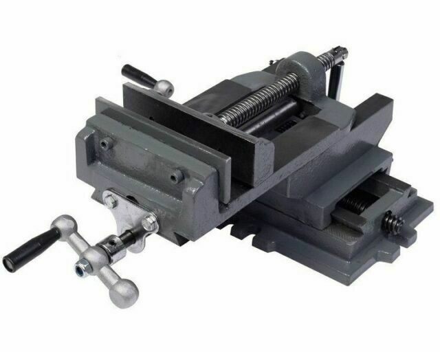 Universal 4 Cross Slide Drill Press Vise