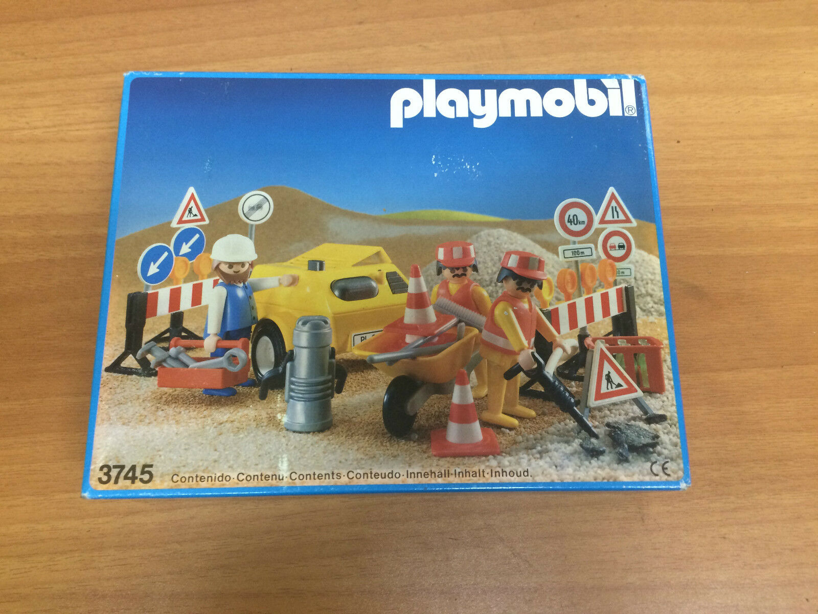 Playmobil 3745 Obras  made in spain 1990 new old stock