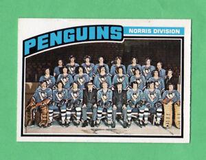 1976-77-OPC-O-PEE-CHEE-145-Penguins-Team