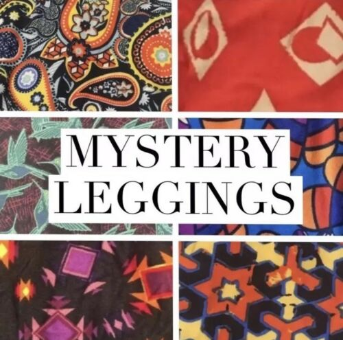 LuLaRoe kids S//M  NWT New leggings 2-8 Small Medium Mystery Solid And Pattern
