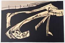 Antonio Saura: Litografía SUITE Kafka / Plancha IV / firmada y numerada