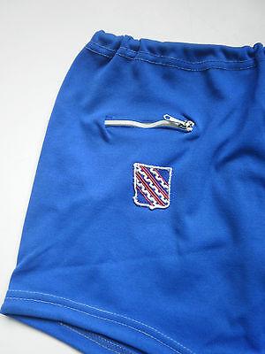 Vorsichtig Oluba Dederon Badehose Sport Hose Shorts True Vintage Trunks Sport Swimm 70er