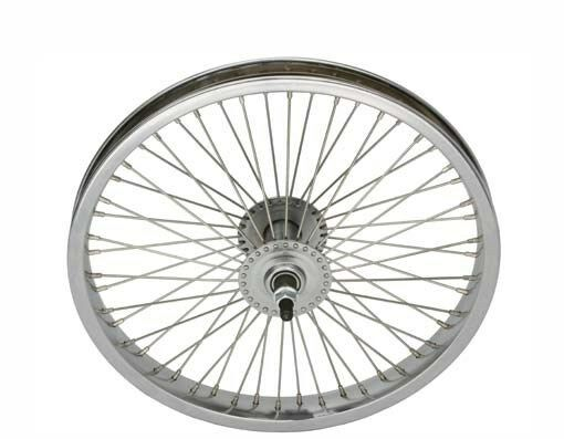 Bicycle 16  Steel Front Wheel W   68 Spokes Cruiser Lowrider BMX MTB Bikes  with 60% off discount