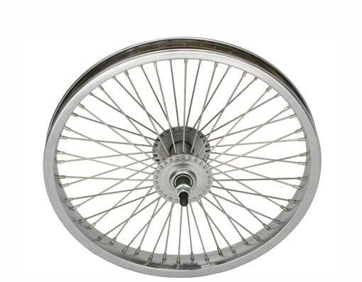 "ORIGINAL BIKE BICYCLE 16/"" STEEL FRONT AND COASTER WHEEL IN 72 SPOKE! NEW"