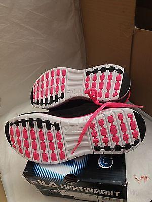 Fila Cool Max Hyper Split Mujer Entrenadores Negro, rosa y blanco-Tamaño: UK 4.5