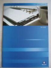 Peugeot 406 Special Models brochure Jul 2000 incl SRi