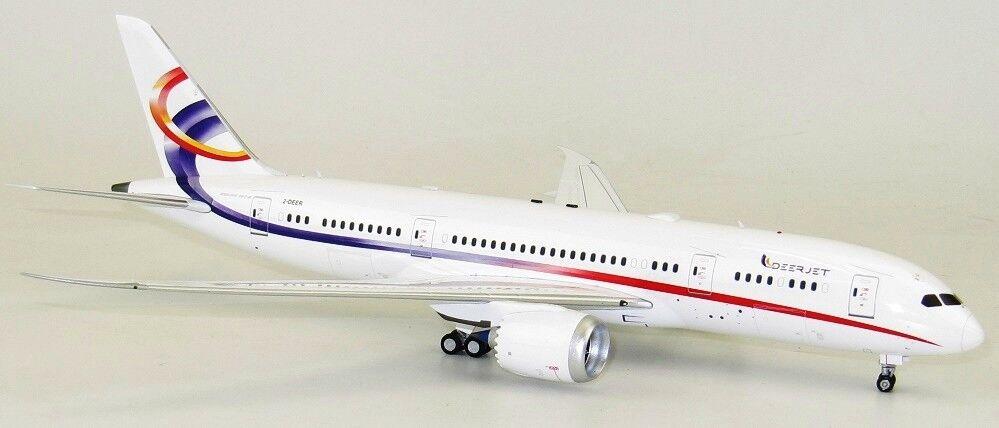 INFLIGHT 200 IF78780717 1 200 DEER JET BOEING 787-8 DREAMLINER 2-DEER WITH STAND