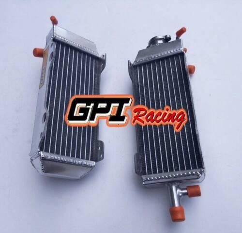Fit Suzuki RM125 RM 125 model T//V 2-stroke 1996 1997 aluminum radiator and hose